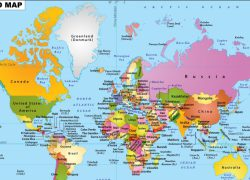 World map 7 continents from fabnewz 3