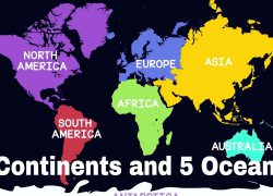 World map 7 continents from youtube 6