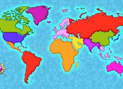World map with compass from pinterest 4