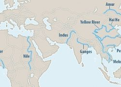 Yellow River On World Map: Yellow river on world map from bigthink 1