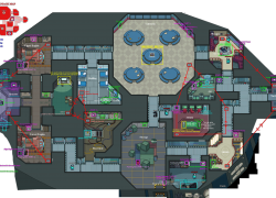 Among us map layout from reddit 8