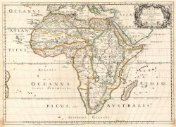 Ancient africa map from ebay 4