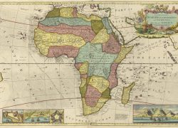Ancient africa map from library 9
