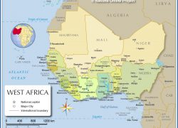 Ancient africa map from nationsonline 10