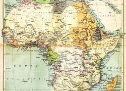 Ancient africa map from nationsonline 8