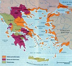 Ancient Greece City States Map