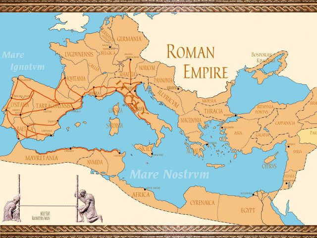 Ancient rome empire map from pinterest 1