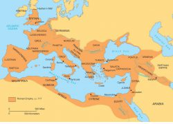 Ancient rome empire map from pinterest 3