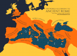 Ancient Rome Map: Ancient rome map from atlasofprejudice 1