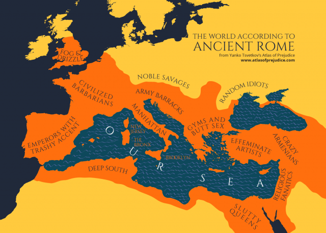 Ancient rome map from atlasofprejudice 1