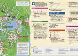 Animal Kingdom Map: Animal kingdom map from wdwinfo 1