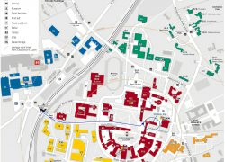 Birmingham University Map: Birmingham university map from id 1