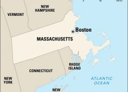 Boston on map from kids 3