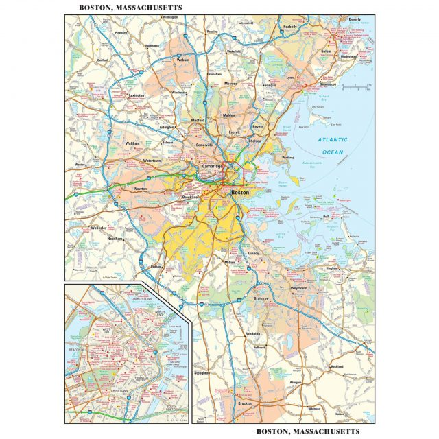 Boston On Map