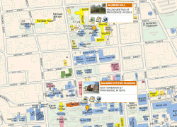 Brown university map from brown 6