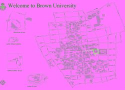 Brown university map from mappery 10
