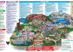 California adventure map from br 9