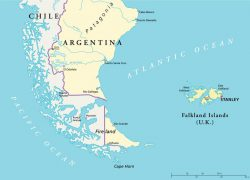 Cape Horn Map: Cape horn map from blogpatagonia 1