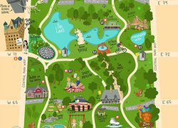 Central park map from pinterest 4