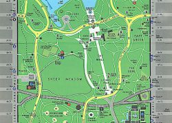 Central park map from pinterest 6