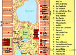 Central park map from pinterest 9