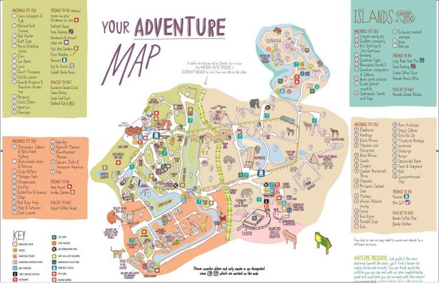 Chester zoo map from pinterest 2