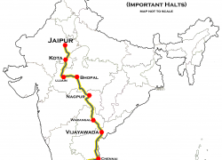 Coimbatore in india map from en 2
