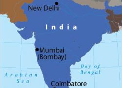 Coimbatore in india map from pbs 8