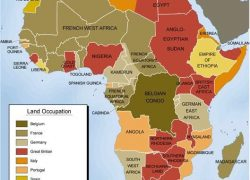 Colonial Map Of Africa: Colonial map of africa from pinterest 1