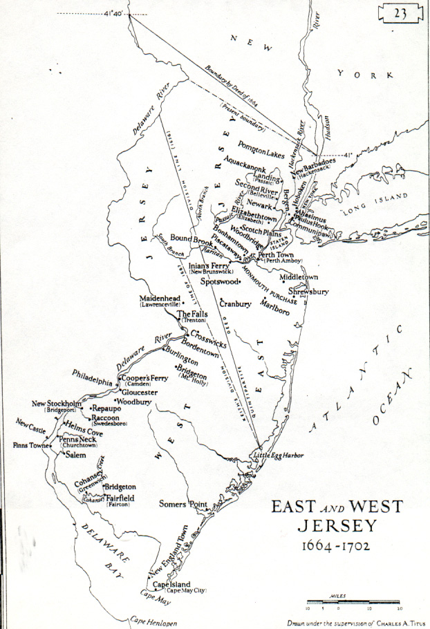 Colonial new jersey map from smplanet 2