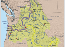 Columbia river on map from americanrivers 2