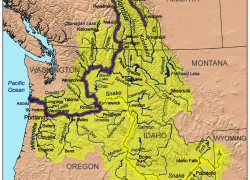 Columbia river on map from olympicdiscoverytrail 4