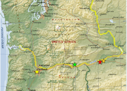 Columbia river on map from researchgate 9