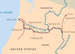 Columbia river on map from roadscholar 5