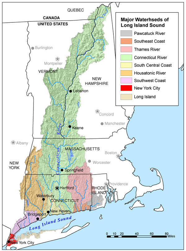 Connecticut river map from americanrivers 1