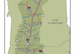 Connecticut river map from ctriver 5