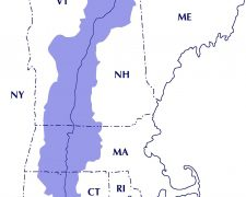 Connecticut river map from ctriver 8
