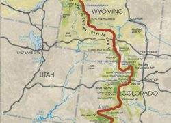 Continental Divide Trail Map: Continental divide trail map from francistapon 1