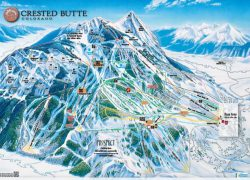 Crested butte trail map from liftopia 2