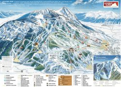 Crested butte trail map from onthesnow 3