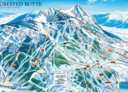 Crested butte trail map from pinterest 10