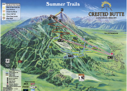 Crested butte trail map from pinterest 8
