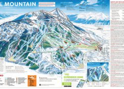 Crested butte trail map from skimap 5