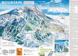 Crested butte trail map from skiresort 9