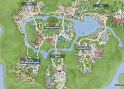 Disney world map 2020 from allears 8