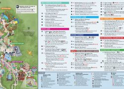 Disney world map 2020 from magicguides 10