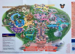 Disney world map 2020 from micechat 9
