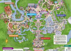 Disney world map 2020 from pinterest 3