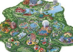 Disney world map from insidethemagic 7