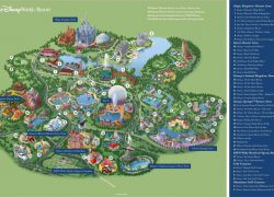 Disney world map from mickeycentral 5